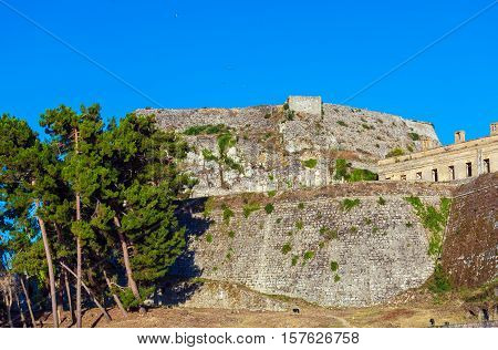 Old Fortress In Kerkyra, Corfu