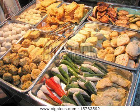 Different Types of Yong Tau Foo Tofu