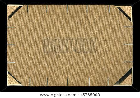 Back Wooden Crate