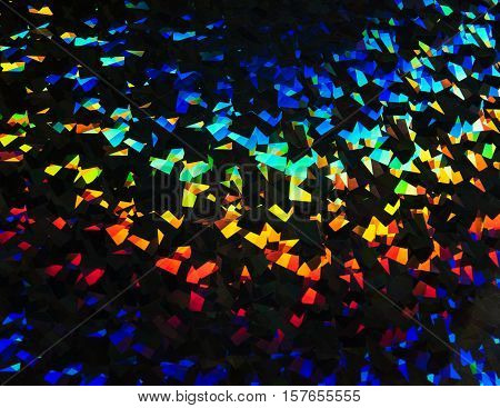 A light refraction background full of colors