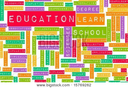 Education Sector and Other Related Terms as Art