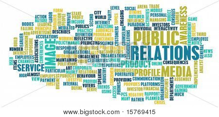 Public Relations Concept in the PR Industry
