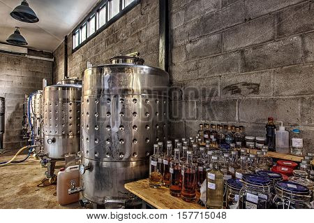 Place where the rum is brewed in Cambodia