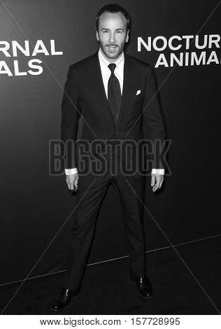 Nocturnal Animals Film Premiere Nyc - Arrivals