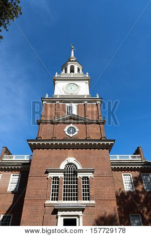 a impressive Landmark in the city of Philadelphia Pennsylvania