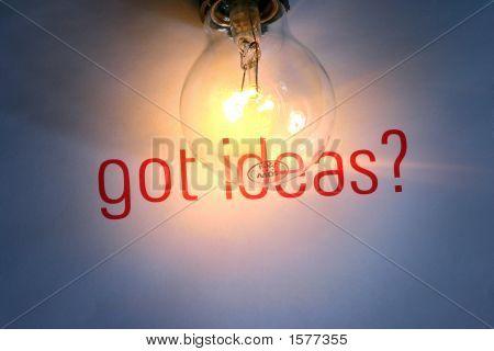 Tiene Ideas con bombilla