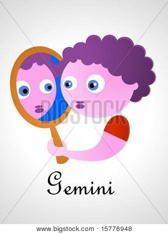 Zodiac signs / icons - gemini