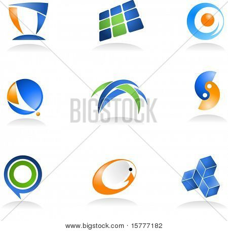 collection of abstract icons - for additional works of this kind, please VISIT MY GALLERY