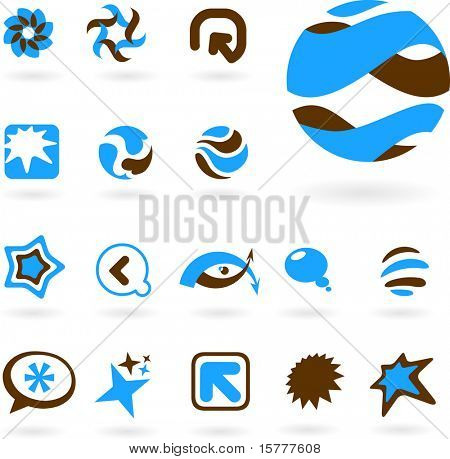 collection of abstract icons - 5. To see similar, please visit MY GALLERY