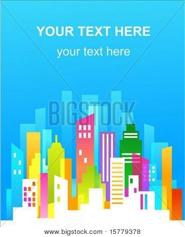 Real estate background template