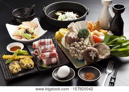Shabu Shabu, Traditional Japanese Hot Pot  cuisine