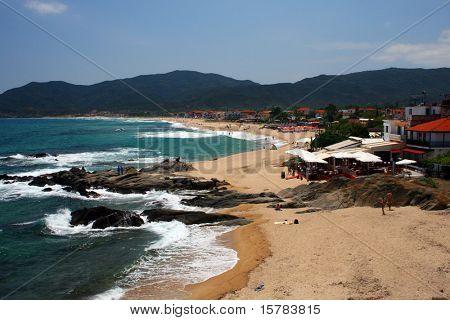 seashore in sarti
