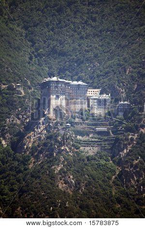 monastery on athos mountain