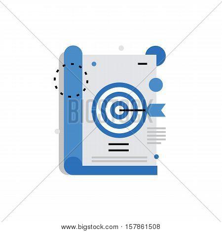 Magazine Ads Monoflat Icon.
