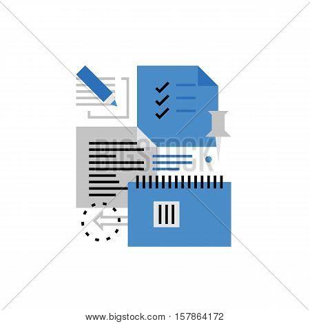 Notes Monoflat Icon.