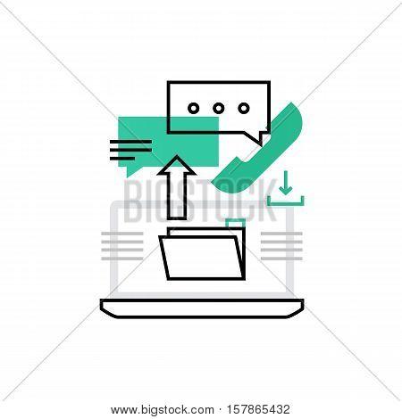 Freelance Monoflat Icon