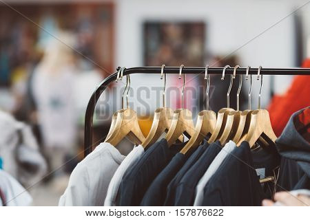 Hanger With New Clothes