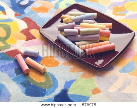 Pastels And Pastel Art Background