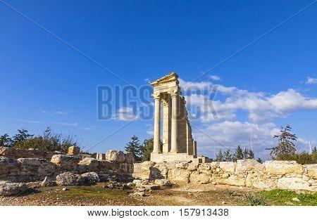 Ruins Of The Sanctuary Of Apollo Hylates, Cyprus