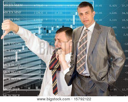 Teamwork Of Businessmen-brokers