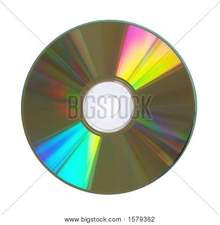 Compact Disc Closeup