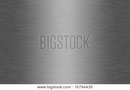 Seamless shiny brushed metal texture background