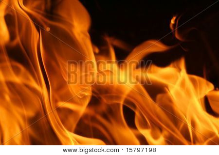 Fire flames background texture