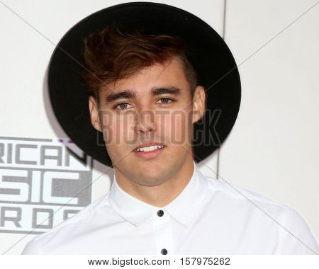 LOS ANGELES - NOV 20:  Jorge Blanco at the 2016 American Music Awards at Microsoft Theater on November 20, 2016 in Los Angeles, CA