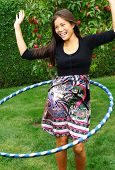 picture of hula dancer  - Hula hoop - JPG