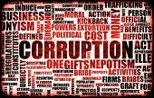stock photo of corruption  - Corruption in the Government in a Corrupt System - JPG