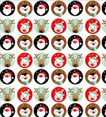 picture of rudolph  - Santa Claus - JPG