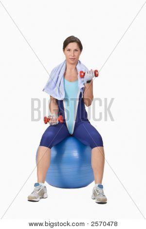 Fitness menina