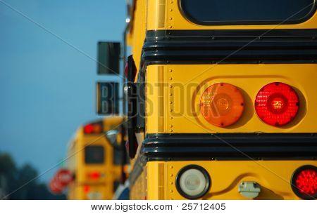 School Bus at Stop