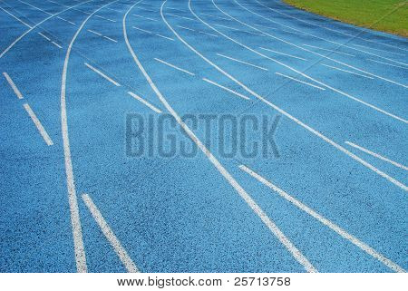 Curving Track Lanes