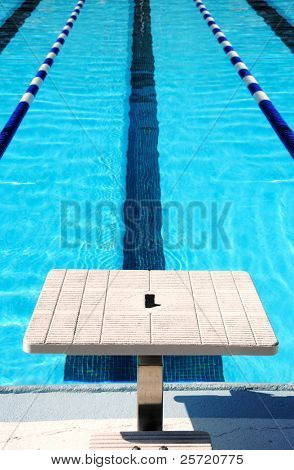Bloco final do swim lane