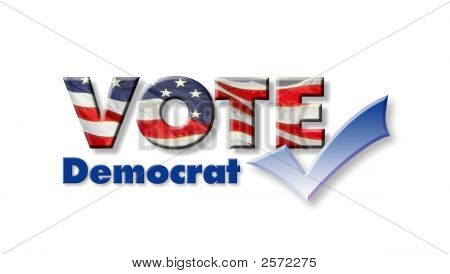 Voto democrata
