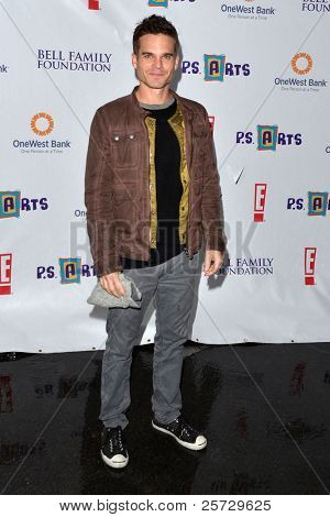 LOS ANGELES - NOV 20:  Greg Rikaart arrives at the P.S Arts 2011