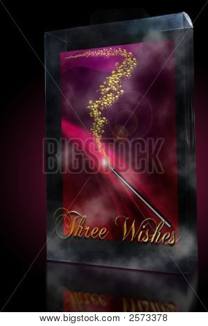 Three Wishes Magic Wand