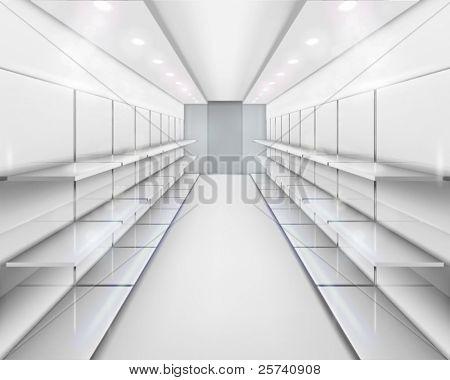 Shelves. Vector illustration.