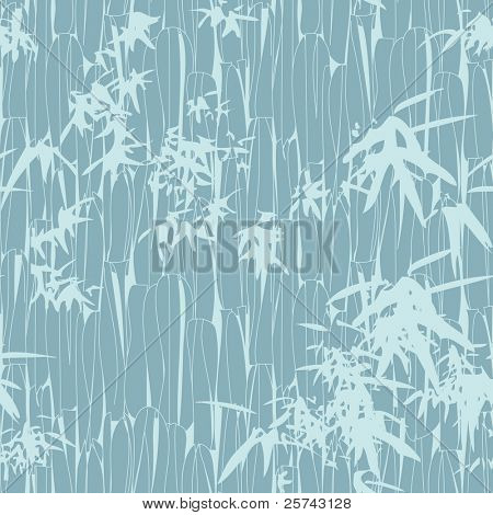 an abstract seamless pattern with bamboo leaves