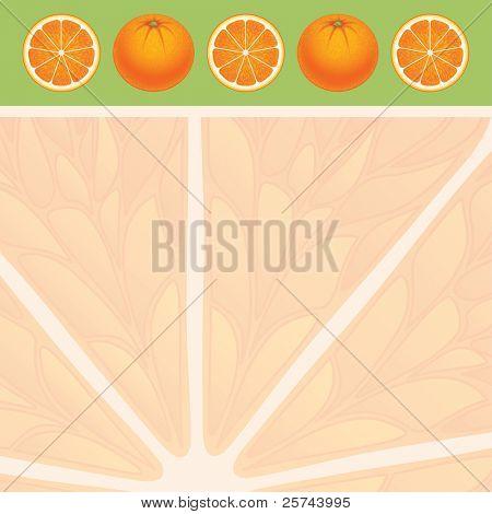 fondo naranja, vector