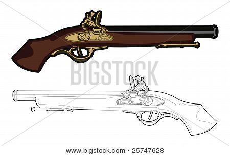Antique Musket
