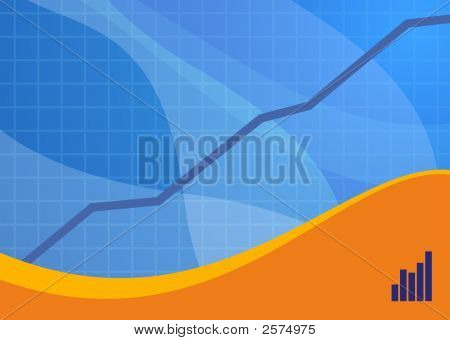 Blue Sales Background Landscape