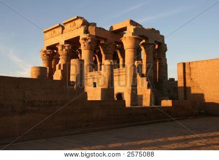 Kom Ombo Temple During Sunset.(Egypt)