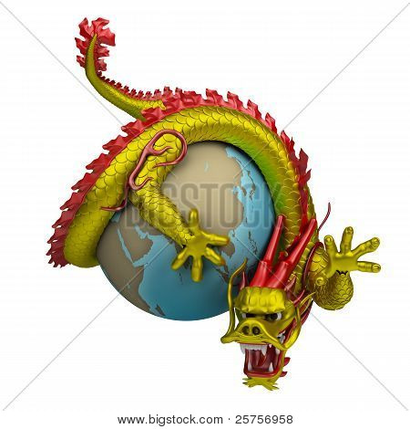Chinese Dragon Around The Globe
