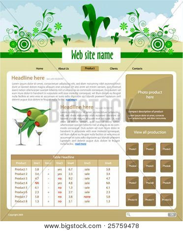 Plants Site Template - Product page #3