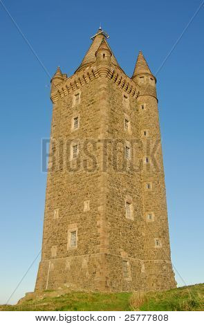 Scrabo Tower In Northern Ireland