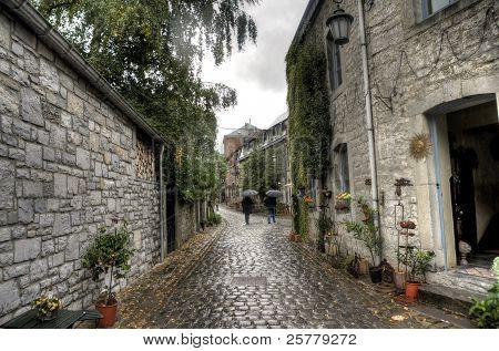 Durbuy Town In Belgium