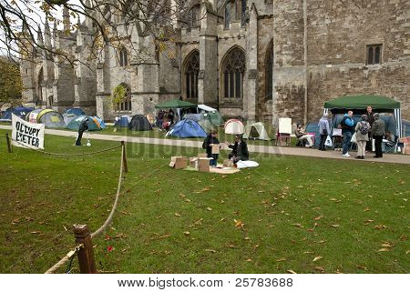 : The Occupy Exeter Camp