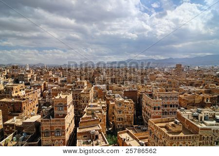 Sanaa, the capital of Yemen